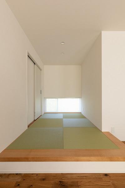 |上越市新築|住宅|施工事例|ママ視点で設計|畳コーナー|