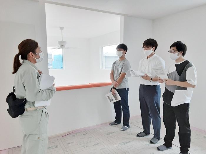 |カネタ建設|インターンシップ|リクルート|現場見学|新潟県内大学生|