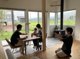 新潟県|上越|注文住宅|新築|薪ストーブ|カネタ建設|大自然と暮らす家|引き渡し後の暮らし|自然|アウトドア