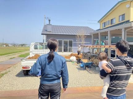 新潟県上越市|注文住宅|新築|薪ストーブ|カネタ建設|大自然と暮らす家|引き渡し後の暮らし|