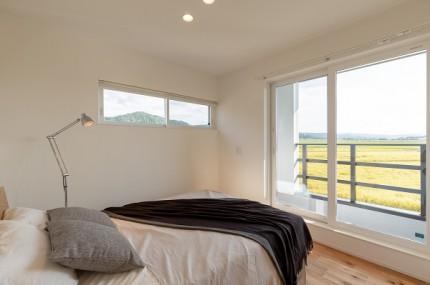 上越市新築住宅|注文住宅|ミニマリスト|シンプル|家を建てるのが夢|寝室|