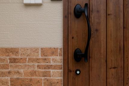 U様邸ドア