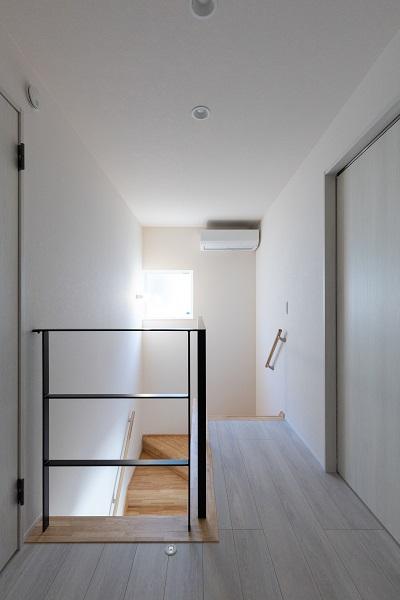 |上越市新築|住宅|施工事例|ママ視点で設計|階段|