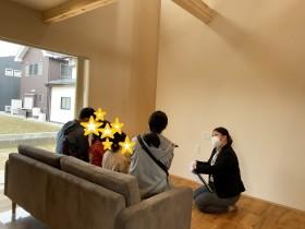 住宅完成見学会|上越市|新築|木の温もり|子育て|ブランコのある家|