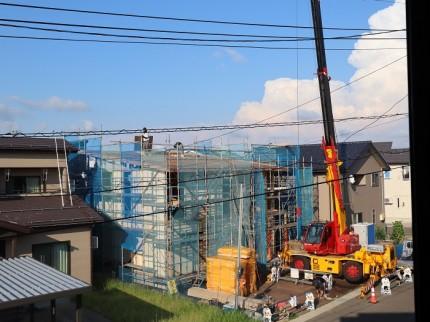 上越市|注文住宅|新築|二世帯|二世帯住宅│建て替え|カネタ建設|上棟