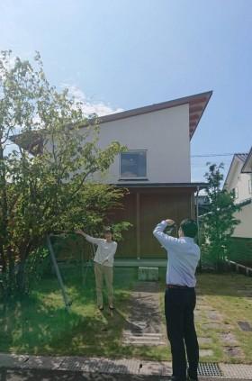 |カネタ建設|WEB見学会|オンライン対決|モデルハウス|塩屋新田の家|