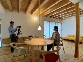 上越市|モデルハウス塩屋新田の家|紹介動画撮影|木の家|居心地のよい家|コンパクトでありながら広がりを感じる視界設計