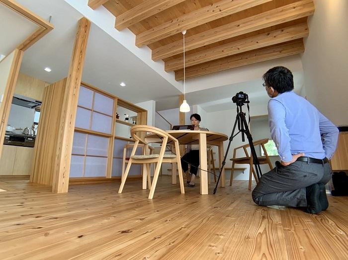 上越市|モデルハウス塩屋新田の家|紹介動画撮影|木の家|居心地のよい家