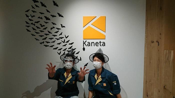 カネタ建設上越店|ハロウィン|写真スポット