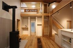 糸魚川市新築住宅|注文住宅|糸魚川の木|糸魚川の職人|薪ストーブ