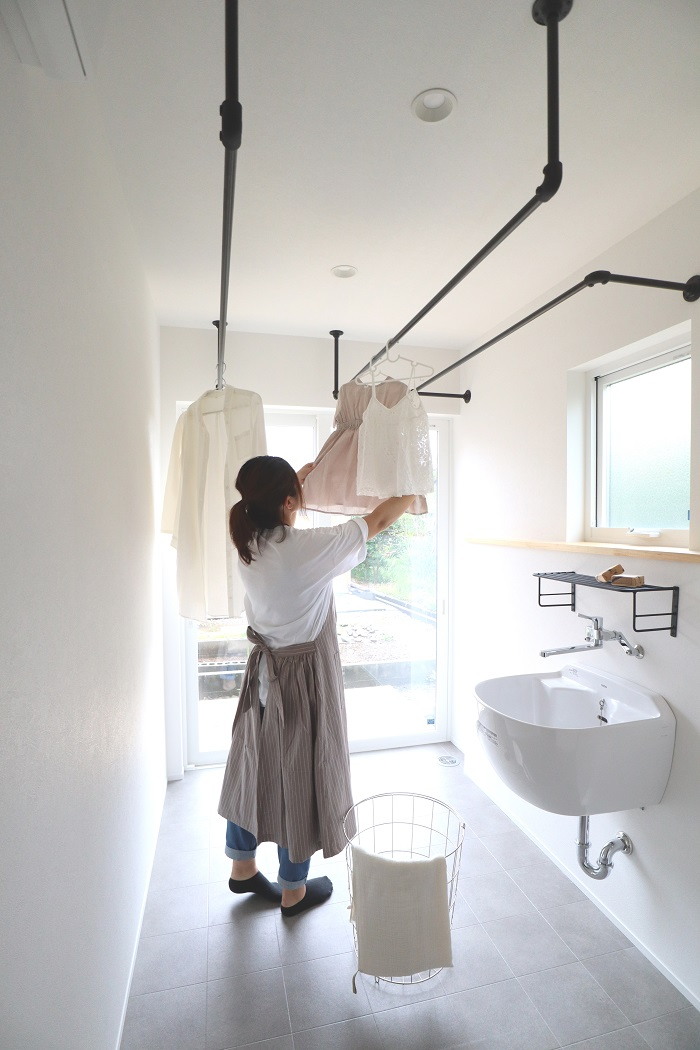 |web限定|完成見学会|上越市|おうちカフェ|見学会|洗濯|サンルーム|撮影|モデル|