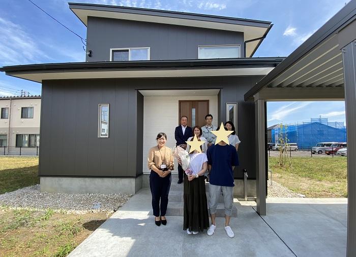 |上越市注文住宅|お引渡し|カネタ建設上越店|新築住宅|