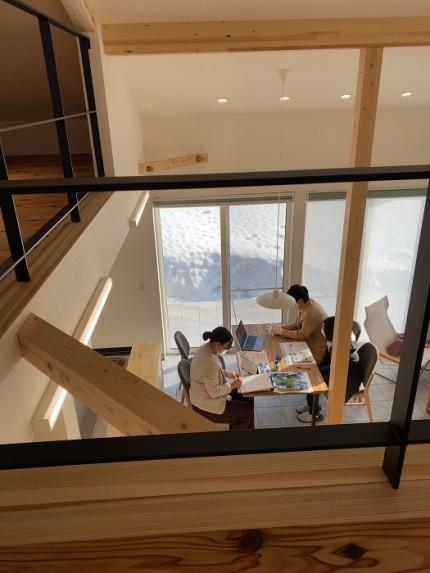 新潟県上越市|注文住宅|薪ストーブ|カネタ建設|大自然と暮らす家|土間のある家|