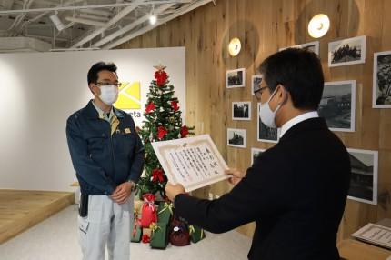 |カネタ建設|上越市|新築住宅|スタッフ|永年勤続表彰|現場監督|