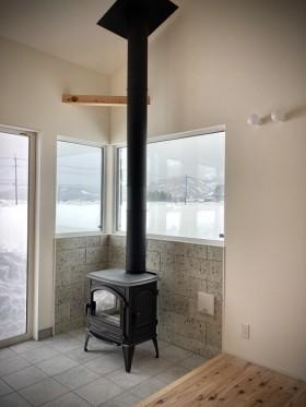カネタ建設|上越市|新築住宅|雪かき|薪ストーブ|注文住宅