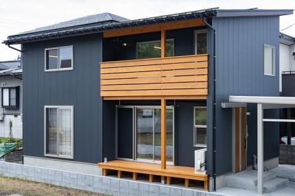 建て替え|糸魚川市新築住宅|注文住宅|提案型住宅|外観|おおらかな暮らし