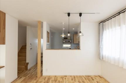 |上越市新築住宅|施工事例|家族時間|家事動線|リビング|ダイニング|キッチン|