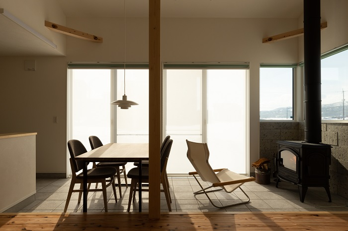 Only one style|大自然と暮らす家|住宅完成見学会|新築|薪ストーブ|上越市|大和|カネタ建設