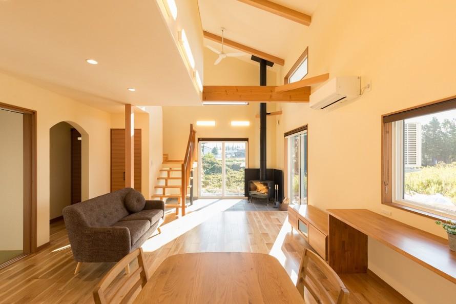 上越市大貫新築住宅|注文住宅|薪ストーブライフ